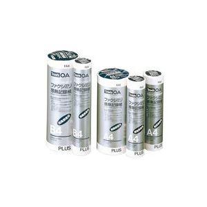 プリンター (業務用60セット) プラス FAX感熱記録紙 FR-210S-H A4 1in 30m 【×60セット】