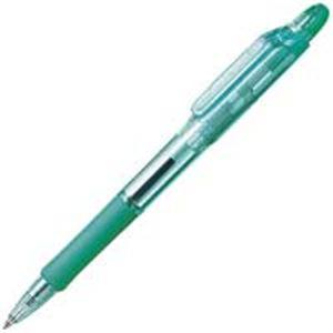 生活用品・インテリア・雑貨 (業務用300セット) ゼブラ ZEBRA ボールペン ジムノック KRB-100-G 緑 【×300セット】