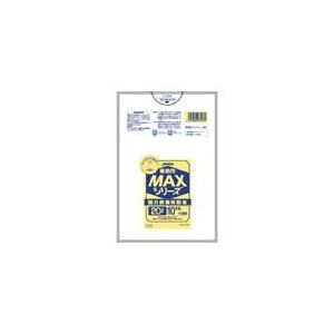 日用品・生活雑貨 袋 関連 業務用MAX20L 10枚入015HD+LD半透明 S23 【(60袋×5ケース)300袋セット】 38-322
