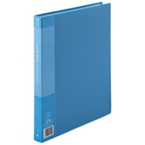 ファイル・バインダー クリアケース・クリアファイル 関連 (業務用5セット) ジョインテックス クリアーブック40P A4S青10冊 D048J-10BL 【×5セット】