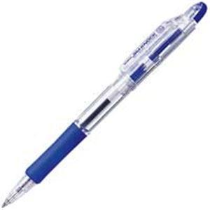 生活用品・インテリア・雑貨 (業務用300セット) ゼブラ ZEBRA ボールペン ジムノック KRB-100-BL 青 【×300セット】