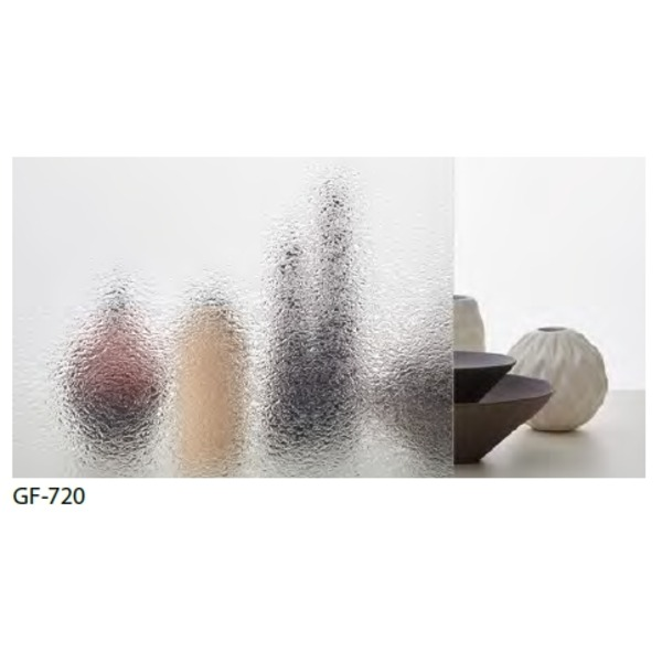 型板ガラス調 飛散低減 ガラスフィルム GF-720 93cm巾 9m巻