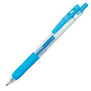 文具・オフィス用品 (まとめ) ゼブラ ゲルインクボールペン サラサクリップ 0.5mm ライトブルー JJ15-LB 1本 【×60セット】