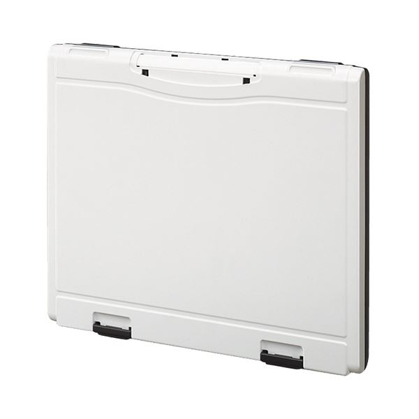 (まとめ) コクヨ キーファイル(KEYSYS) 白フタタイプ 18個吊 KFB-A4W 1個 【×4セット】