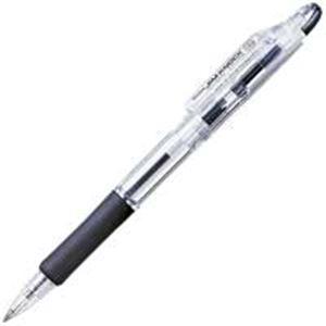 文房具・事務用品 筆記具 関連 (業務用300セット) ゼブラ ZEBRA ボールペン ジムノック KRB-100-BK 黒 【×300セット】