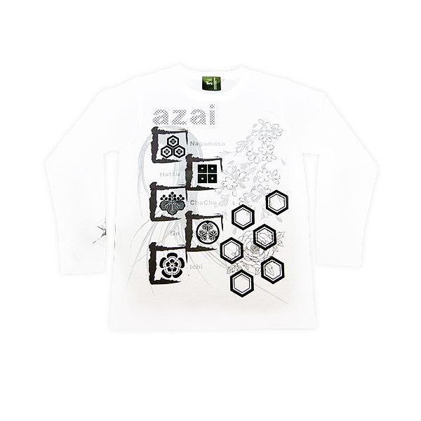 メンズファッション トップス Tシャツ・カットソー 関連 浅井家 長Tシャツ LW S 白