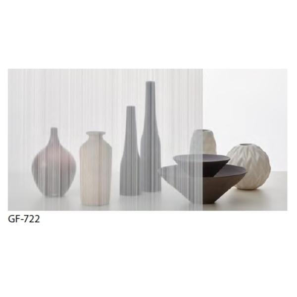 おしゃれな家具 関連商品 ストライプ 飛散防止 ガラスフィルム GF-722 92cm巾 4m巻