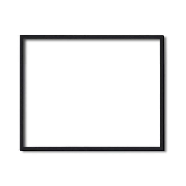 【額縁・絵画額・水彩額】壁掛けひも・アクリル付 ■5767デッサン額(ブラック) 大全紙サイズ(727×545mm)