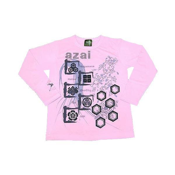 メンズファッション トップス Tシャツ・カットソー 関連 浅井家 長Tシャツ LW Ladies M ピンク