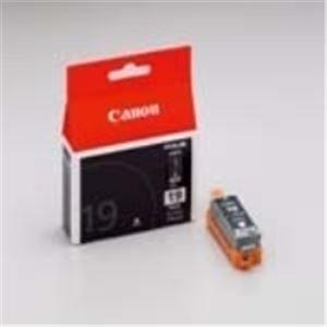 パソコン・周辺機器 (業務用40セット) キャノン Canon インクカートリッジ BCI-19BK 【×40セット】
