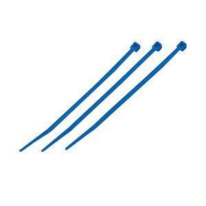 スポーツ・レジャー (まとめ)結束バンド ケーブルタイ(カラー) 【長さ250mm/100本入×10セット】 ブルー(青) マーベル MCT-250BE