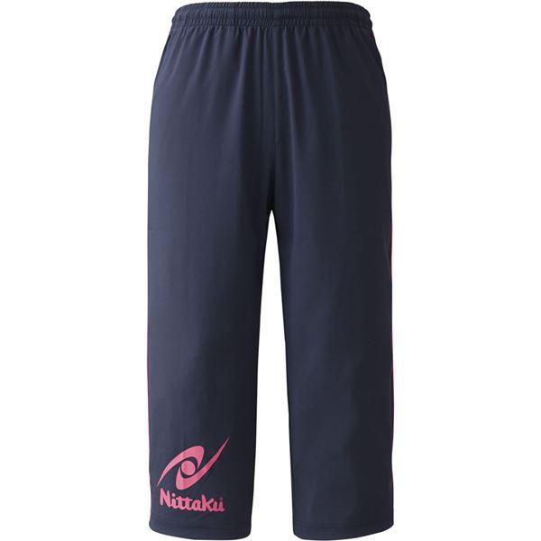 スポーツ用品・スポーツウェア関連商品 卓球パンツ BREAKER CROPPED PANTS(ブレーカー七分丈パンツ NW2853 ピンク L