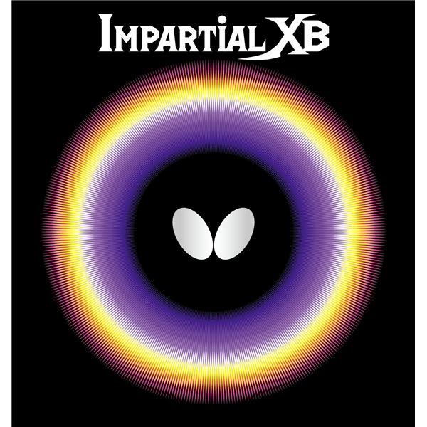 スポーツ用品・スポーツウェア バタフライ(Butterfly) 表ラバー IMPARTIAL XB(インパーシャルXB) 00410 ブラック TA