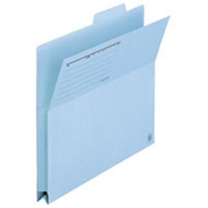 収納用品 マガジンボックス・ファイルボックス 関連 (業務用50セット) プラス 持出しフォルダー FL-061PF ロイヤル青10枚