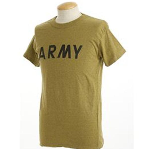 USタイプARMYオバーダイTシャツ  L  オバーダイイエロー