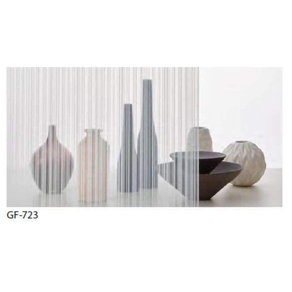 ストライプ 飛散防止 ガラスフィルム GF-723 92cm巾 4m巻