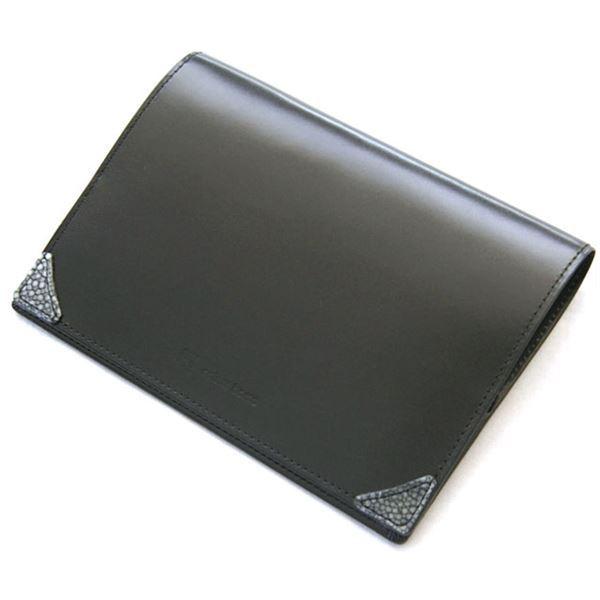 ファッション ブックカバー ブラック MG-007