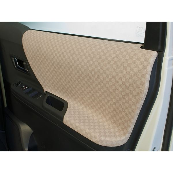 車用品 パーツ 内装パーツ 関連 アルファード 20系 ドアパネル6点セット カラー:ベージュ シルクロード
