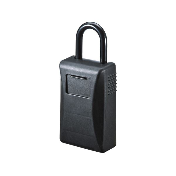 生活 雑貨 通販 (まとめ)サンワサプライ セキュリティ鍵収納ボックス(シャッター付き) SL-76【×2セット】