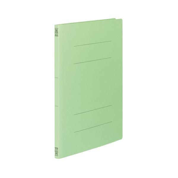 文具・オフィス用品 (まとめ) コクヨ フラットファイルV(樹脂製とじ具) B4タテ 150枚収容 背幅18mm 緑 フ-V14G 1パック(10冊) 【×5セット】