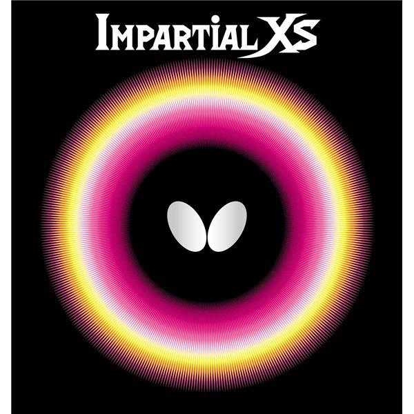 スポーツ用品・スポーツウェア バタフライ(Butterfly) 表ラバー IMPARTIAL XS(インパーシャルXS) 00420 ブラック MAX
