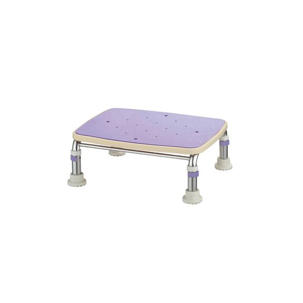 バス用品・入浴剤 アロン化成 浴槽台 ステンレス製浴槽台R (5)17.5-25 ブルー 536-449