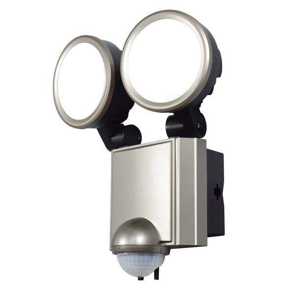 インテリア・寝具・収納 ライト・照明器具 電球 関連 ELPA(エルパ)屋外用LEDセンサーライト AC電源 ESL-SS1002AC