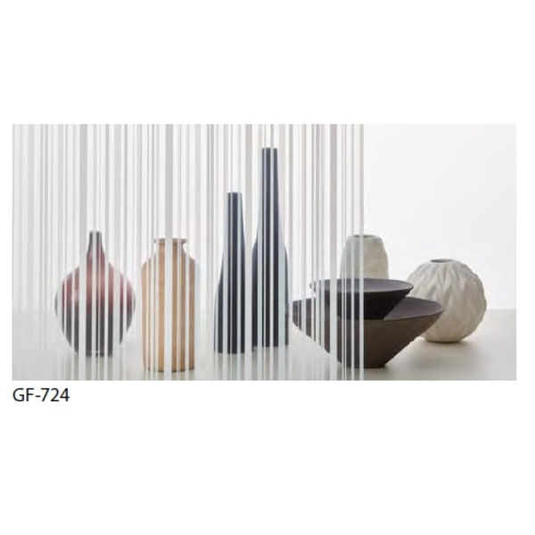 ストライプ 飛散防止 ガラスフィルム GF-724 92cm巾 3m巻