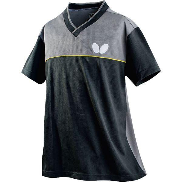 スポーツ用品・スポーツウェア関連商品 卓球アパレル DOISLITE SHIRT(ドイスライト・シャツ)男女兼用 45270 ブラック SS
