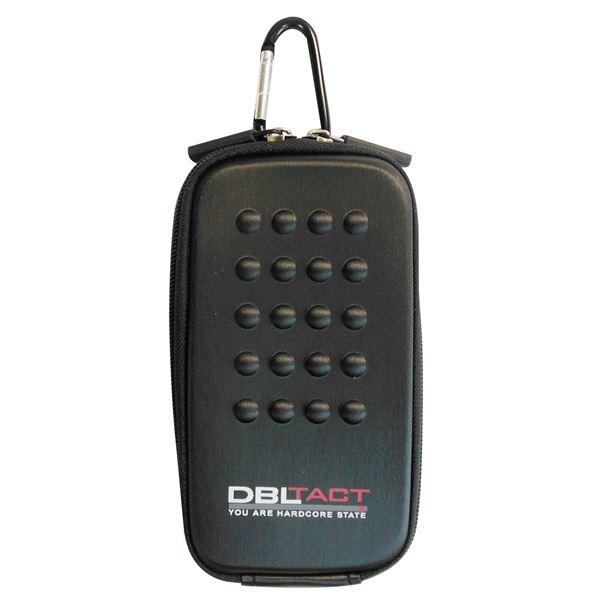 スマートフォン・携帯電話用アクセサリー ケース・カバー 関連 (業務用10個セット) DBLTACT マルチ収納ケース(プロ向け/頑丈) DT-MSK-BK ブラック