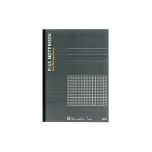 文房具・事務用品 紙製品・封筒 関連 (業務用200セット) プラス ノートブック NO-204GS A4 方眼罫 【×200セット】