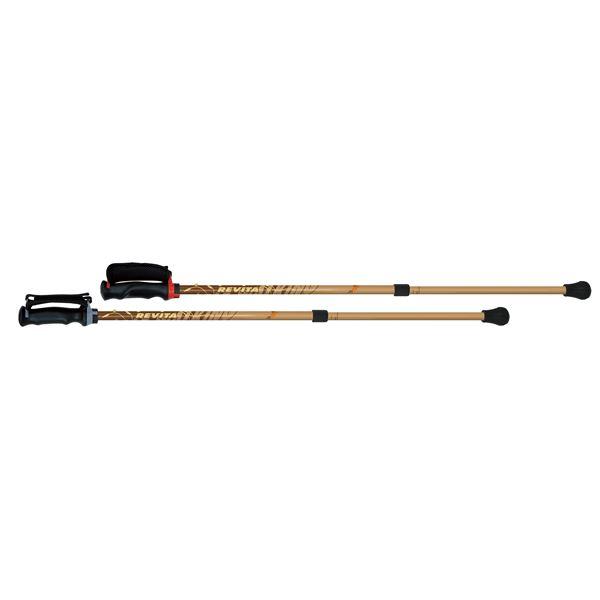 介護用品 移動・歩行支援用品 ステッキ・杖 一本杖 関連 シナノ 直杖 あんしん2本杖 ブラウン 2863 116326