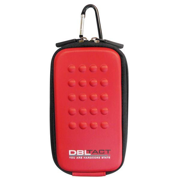 スマートフォン・携帯電話用アクセサリー ケース・カバー 関連 (業務用10個セット) DBLTACT マルチ収納ケース(プロ向け/頑丈) DT-MSK-RE レッド