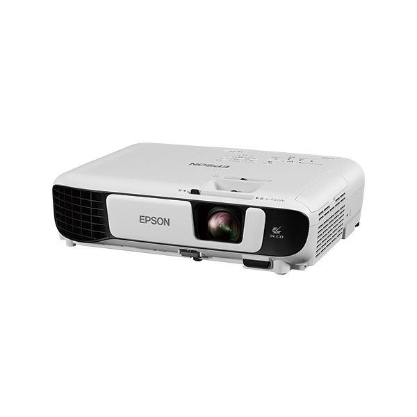 パソコン・周辺機器 関連 家電関連商品 エプソン ビジネスプロジェクター/ベーシックモデル/3300lm/SVGA/2.5kg/ホーム画面機能 EB-S41
