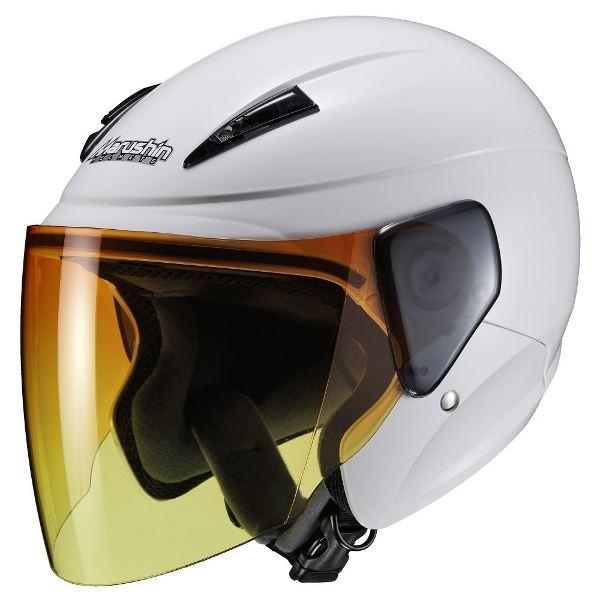 ヘルメット 関連商品 M-520 アンバーシールド WH(ホワイト) XL