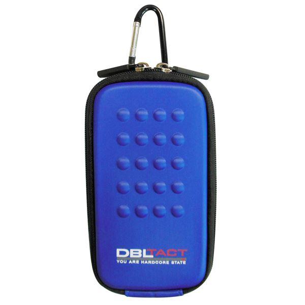 スマートフォン・携帯電話用アクセサリー ケース・カバー 関連 (業務用10個セット) DBLTACT マルチ収納ケース(プロ向け/頑丈) DT-MSK-BL ブルー