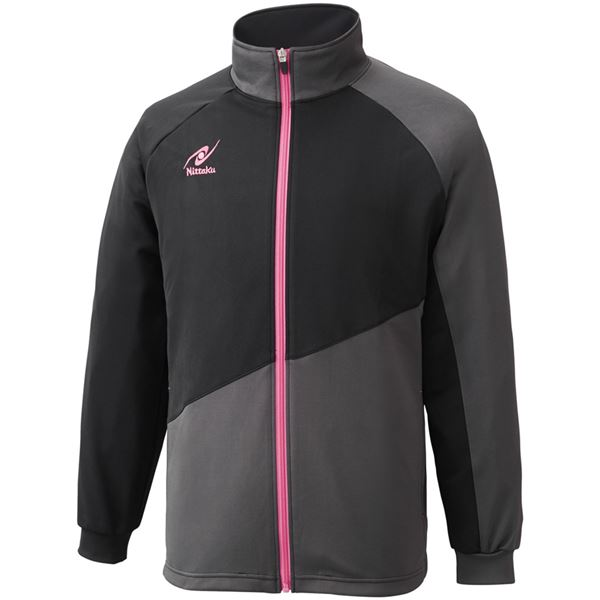 スポーツ用品・スポーツウェア関連商品 卓球アパレル TRAINING SL SHIRT(トレーニングSLシャツ)男女兼用 NW2854 ピンク SS