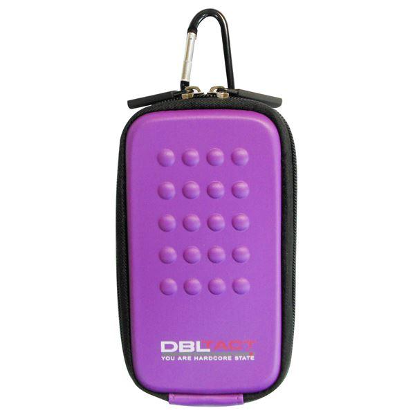 スマートフォン・携帯電話用アクセサリー ケース・カバー 関連 (業務用10個セット) DBLTACT マルチ収納ケース(プロ向け/頑丈) DT-MSK-PU パープル