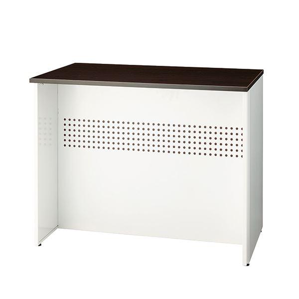 インテリア・寝具・収納 オフィス家具 関連 ローカウンターW900 SMC743911 パンチング