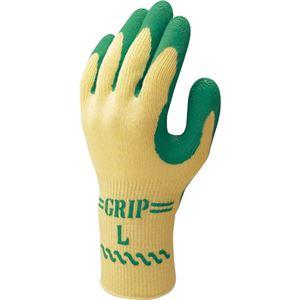 DIY・工具 (まとめ) ショーワグローブ グリップ(ソフトタイプ) LL 緑 NO.310LL GN 1双 【×15セット】