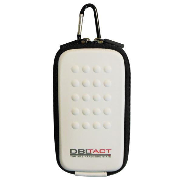 スマートフォン・携帯電話用アクセサリー ケース・カバー 関連 (業務用10個セット) DBLTACT マルチ収納ケース(プロ向け/頑丈) DT-MSK-WH ホワイト