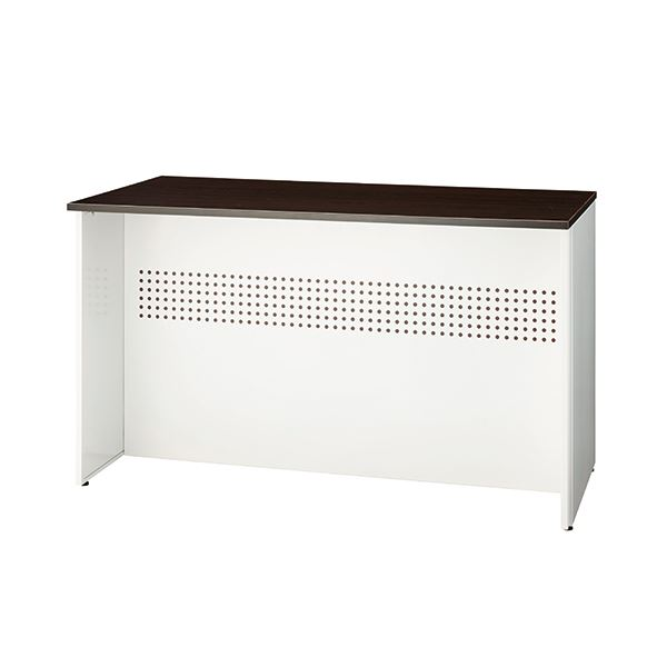 インテリア・寝具・収納 オフィス家具 関連 ローカウンターW1200 SMC743912 パンチング