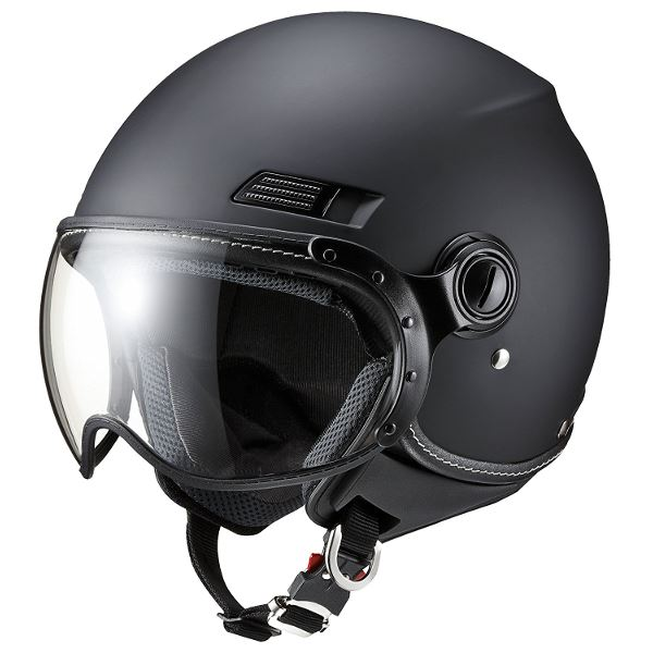 ヘルメット 関連商品 MS-340 MBK(マットブラック) M
