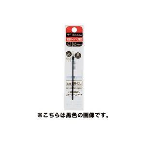 生活用品・インテリア・雑貨 (業務用60セット) トンボ鉛筆 ボールペン替芯 BR-CL25 赤 5本 【×60セット】