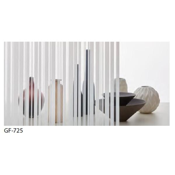 ストライプ 飛散防止 ガラスフィルム GF-725 92cm巾 4m巻