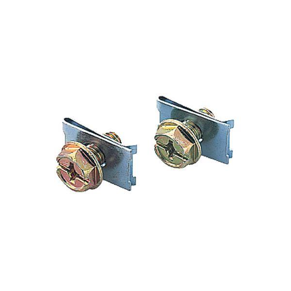 インテリア・寝具・収納 関連 (まとめ) トヨセット A4対応書庫AW・ANシリーズ 上下連結金具 TKM-5 1セット(2個) 【×4セット】