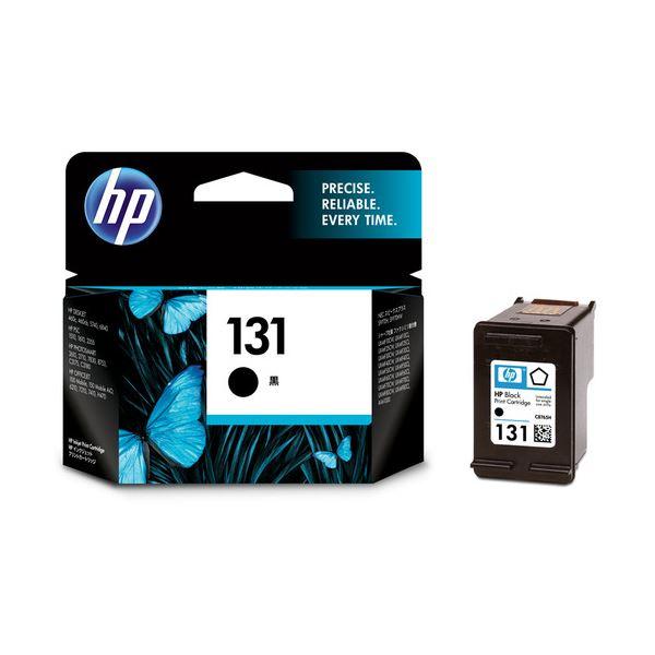 パソコン・周辺機器 PCサプライ・消耗品 インクカートリッジ 関連 (まとめ) HP131 プリントカートリッジ 黒 C8765HJ 1個 【×3セット】