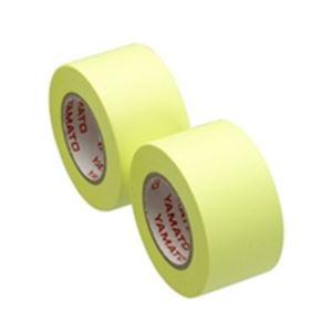 DIY・工具 接着・補修用品 粘着テープ 関連 (業務用100セット) ヤマト メモックロール替テープ蛍光 WR-25H-LE 【×100セット】
