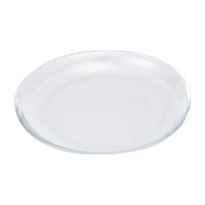 ホビー・エトセトラ 便利 日用品 (まとめ買い)ガラス丸皿 φ210mm 【×15セット】