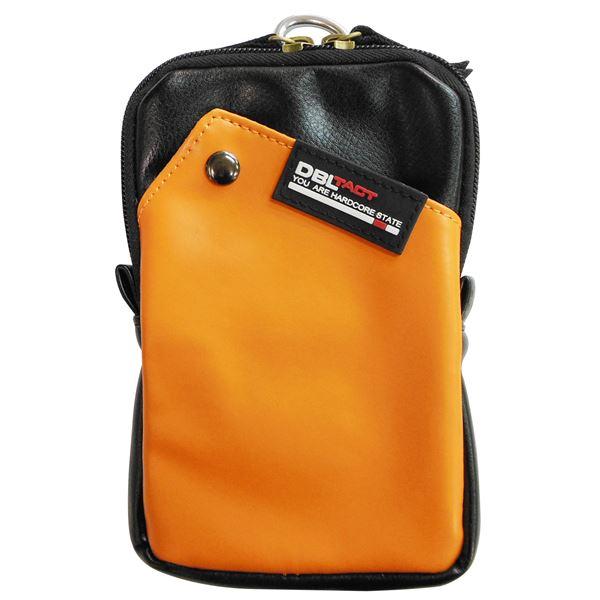 モバイル・周辺機器 (業務用10個セット) DBLTACT マルチ収納ケース(プロ向け/頑丈) ワイド DT-MSKW-OR オレンジ